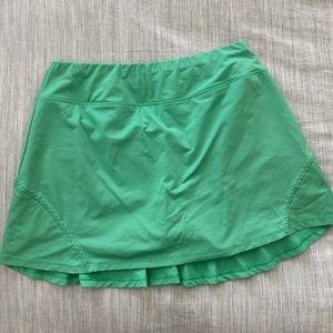 Lija Flouncy Layered Tennis Skirt w/ Shorts